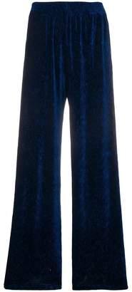 MM6 MAISON MARGIELA textured velvet trousers