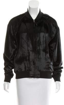 J Brand Velour Bomber Jacket w/ Tags