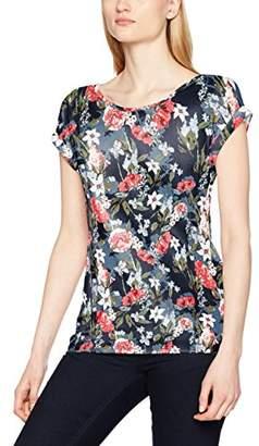... Tom Tailor Women s Floral Print top T-Shirt, (Real Navy Blue 6593) 52d6a4de03