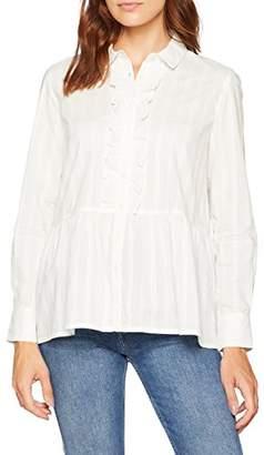 People Tree Peopletree Women's Prudence Shirt, (Eco White)