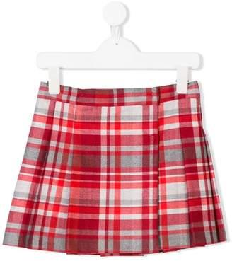 Il Gufo check skirt