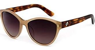 Hang Ten Gold Women's Fashionable HTG1021 C2 Polarized Round Sunglasses