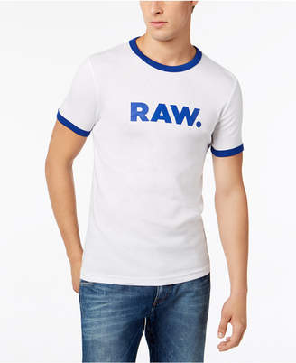 G Star Men's Raw Sustainable Organic Slim Fit T-Shirt, Created for Macy's