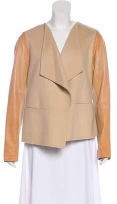 Vince Wool Open Front Jacket