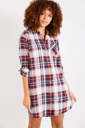 Jack Wills Dress- Maggie Plaid Shirt