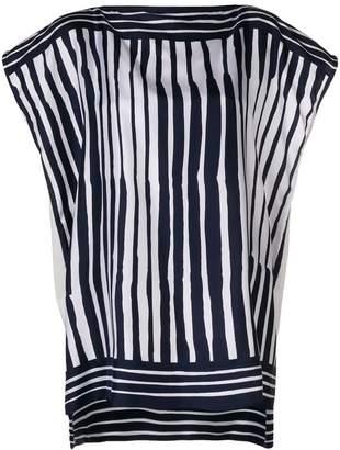 Salvatore Ferragamo striped blouse