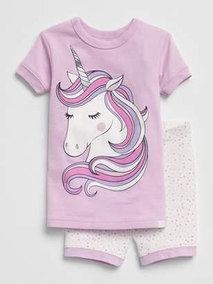 Gap Unicorn Short PJ Set