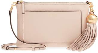 Tory Burch Tassel Leather Crossbody Bag
