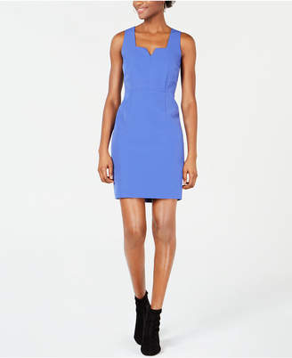 2910b5c183 Bar III Notched-Neck Bodycon Dress