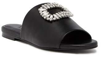 Charles David Sorbet Crystal Embellished Slide Sandal