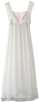 Black Label Selena Long Mesh Gown