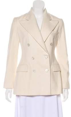 Ralph Lauren Purple Label Peak-Lapel Cashmere Coat