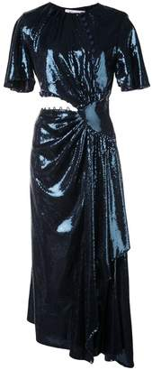Prabal Gurung asymmetric sequined dress