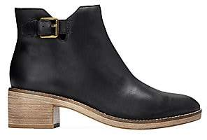 Cole Haan Women's Harrington Grand Buckle Leather Ankle Boots