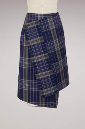 Acne Studios Hoshi cotton skirt