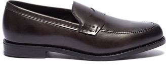 4cdeaa02599 Allen Edmonds  Wooster Street  leather penny loafers