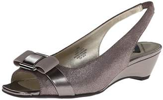 Anne Klein Sport Women's Beckee Fabric Wedge Pump