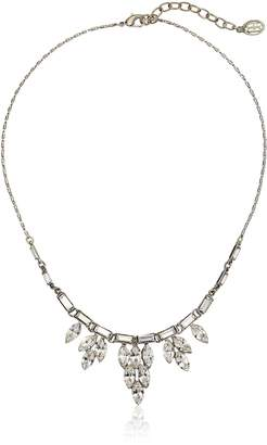 Michael Kors Ben-Amun Jewelry Three Crystal Delicate Pendant Necklace