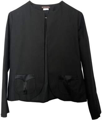 Les Prairies de Paris Black Cotton Jacket for Women