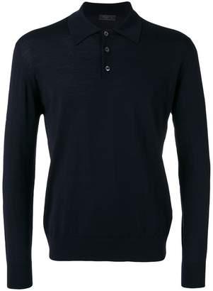 Prada button placket sweater