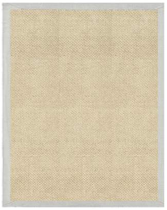 Pottery Barn Chenille Jute Basketweave Rug - Gray