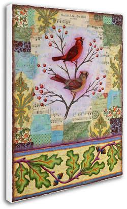 Trademark Global Rachel Paxton 'Garden Wall' Canvas Art