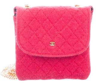 Chanel Micro Mini Jersey Flap Bag