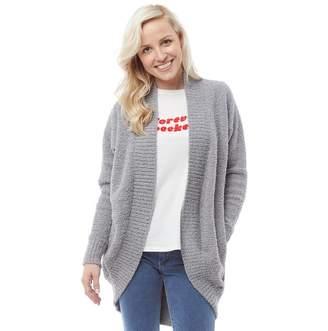 UGG Womens Fremont Fluffy Knit Cardigan Grey 243c9cf72