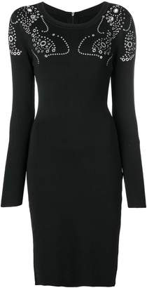 MICHAEL Michael Kors fitted round neck dress