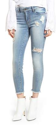 BP Emma Ripped Ankle Skinny Jeans