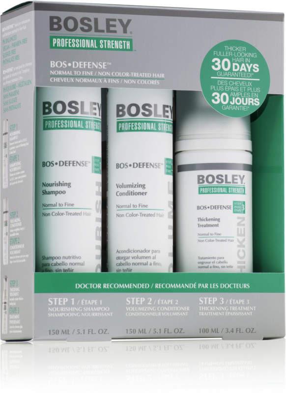 Bosley BosDefense Kit For Non Color-Treated Hair