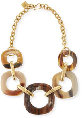 Ashley Pittman Graduating Horn-Link Necklace