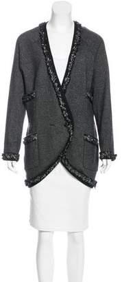 Chanel Cashmere Lesage Tweed Cardigan