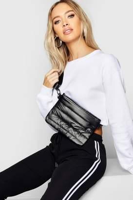 boohoo Puff Quilt Cross Body Bag