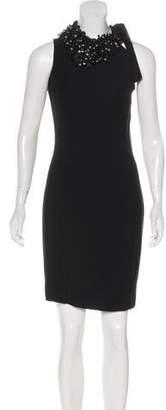 DSQUARED2 Embellished Silk Dress