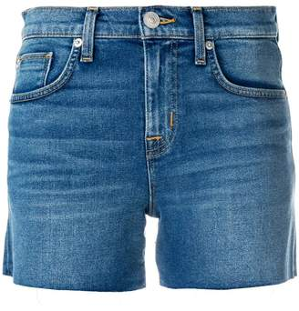 Hudson frayed denim shorts
