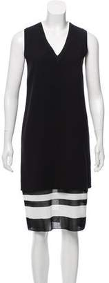 Vince Sleeveless Midi Dress w/ Tags