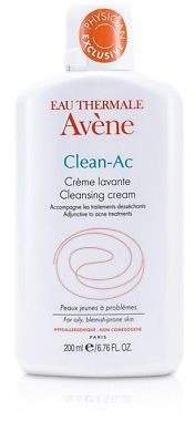 Avene NEW Clean-AC Cleansing Cream (For Oily, Blemish-Prone Skin) 200ml Womens