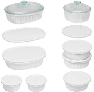 Corningware Fluted 18-Piece Bakeware Set