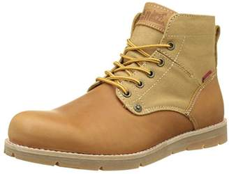 Levi's Men's Jax Desert Boots, (Medium Yellow 74)