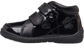 a0130bcc39fc4 Start Rite Start-Rite Infant Girls Super Soft Lily Patent Boots F Fit Black  Leather