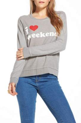 Chaser I Heart Weekends $88 thestylecure.com