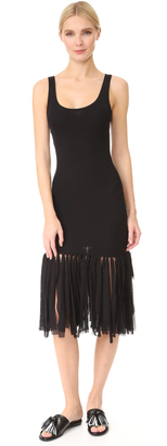 Fuzzi Sleeveless Dress $445 thestylecure.com