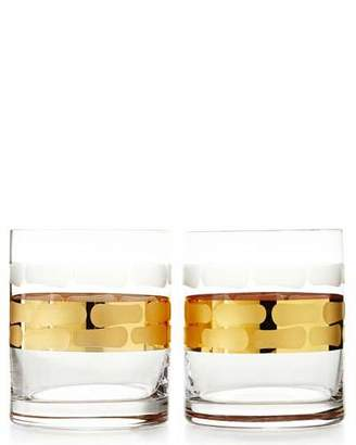 Michael Wainwright Truro Gold Double Old-Fashioneds, Set of 2