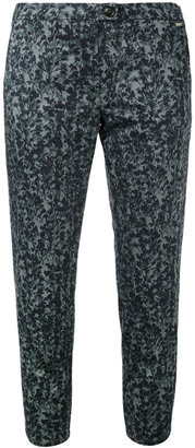 Woolrich embroidered cropped trousers $174.59 thestylecure.com