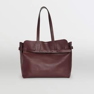 Burberry The Medium Soft Leather Belt Bag, Red