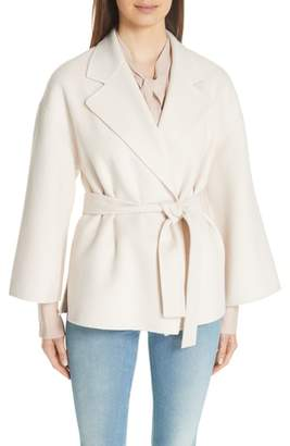 Theory Wool & Cashmere Belted Jacket