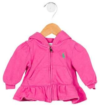 Ralph Lauren Girls' Hooded Sweatshirt