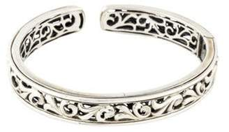 Charles Krypell Ivy Hinged Cuff silver Ivy Hinged Cuff