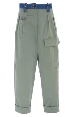 N°21 N 21 Alva Gabardine Cotton Pant